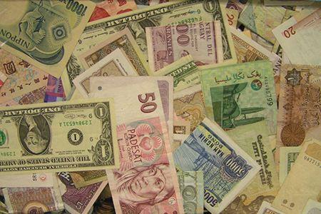各种外币(配图)_新西兰各家银行有什么不同