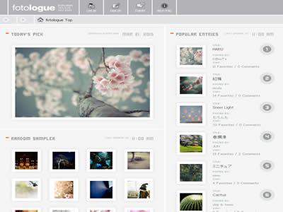 日本漂亮的照片交流网站