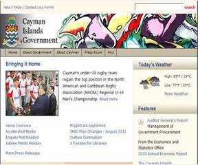 开曼群岛政府官方网站