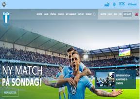 国外网站 马尔默足球俱乐部:Malmö 界面