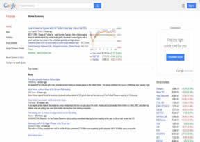 谷歌旗下的财经频道
