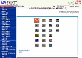 香港台风网(台风预测网)
