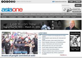 新加坡的一个生活资讯网