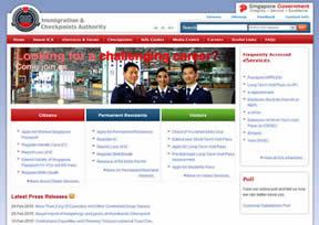 新加坡移民局官网