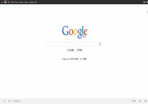 国外网站 Google台湾分站 界面