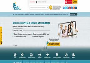 印度当地的一家连锁医院
