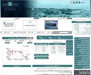 巴勒斯坦的证券交易所