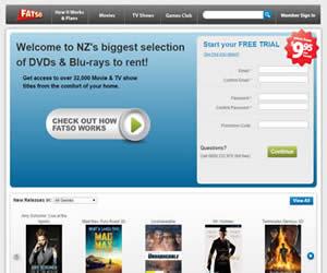新西兰的一家DVD线上租赁服务商